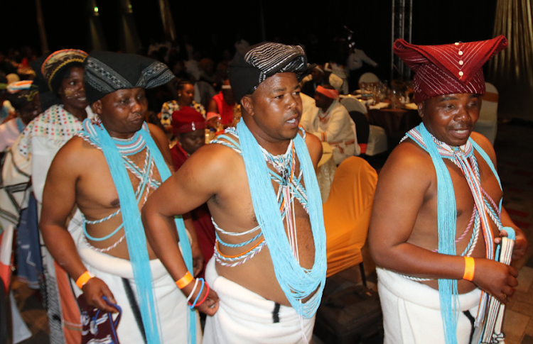 Inkolo Kantu Traditional group performed at the event