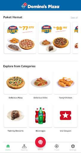 Domino's Pizza Indonesia - Home Delivery Expert Apk 2