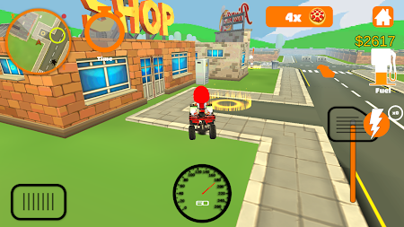 Racing Pizza Delivery Baby Boy 1.0 screenshot 11208