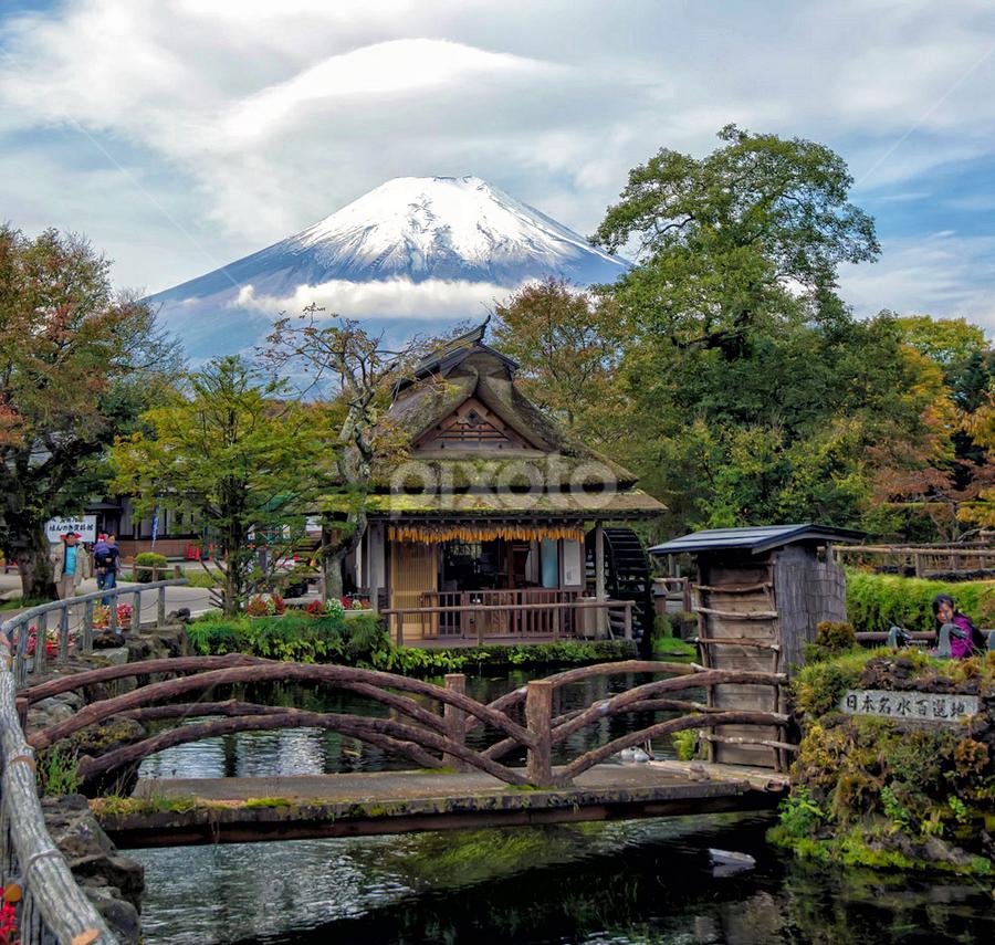 Mt. Fuji by Phattana Sangsawang - Travel Locations Landmarks