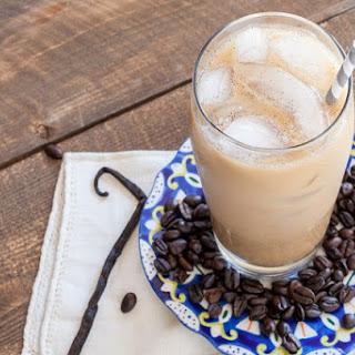 Iced Vanilla Bean Latte
