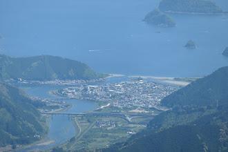 海山インターチェンジ付近