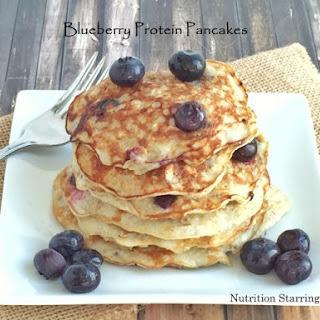 Blueberry Protein Pancakes Recipe