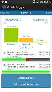 Vehicle Logger | Log Book - screenshot thumbnail