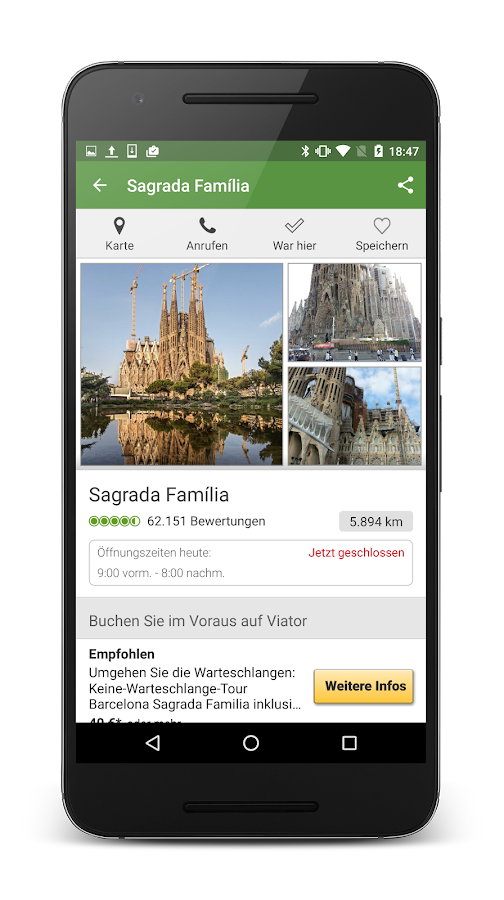 TripAdvisor Hotels Restaurants – Screenshot