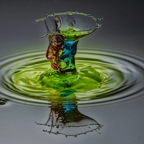 by Benny Shutterbugs - Abstract Water Drops & Splashes