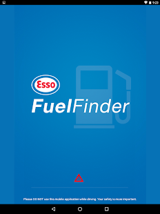 Esso Fuel Finder- screenshot thumbnail