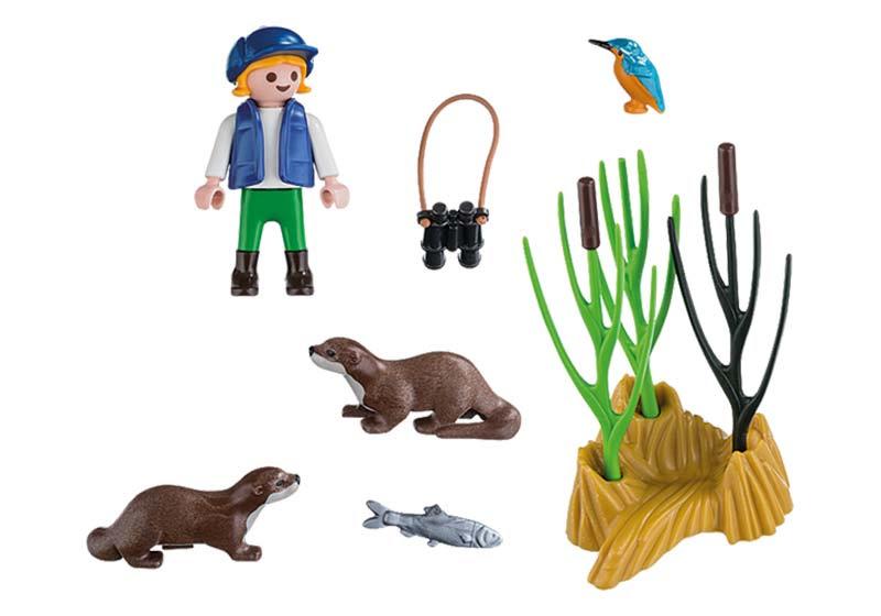 Contenido real de Playmobil® 5376 Niño Explorador