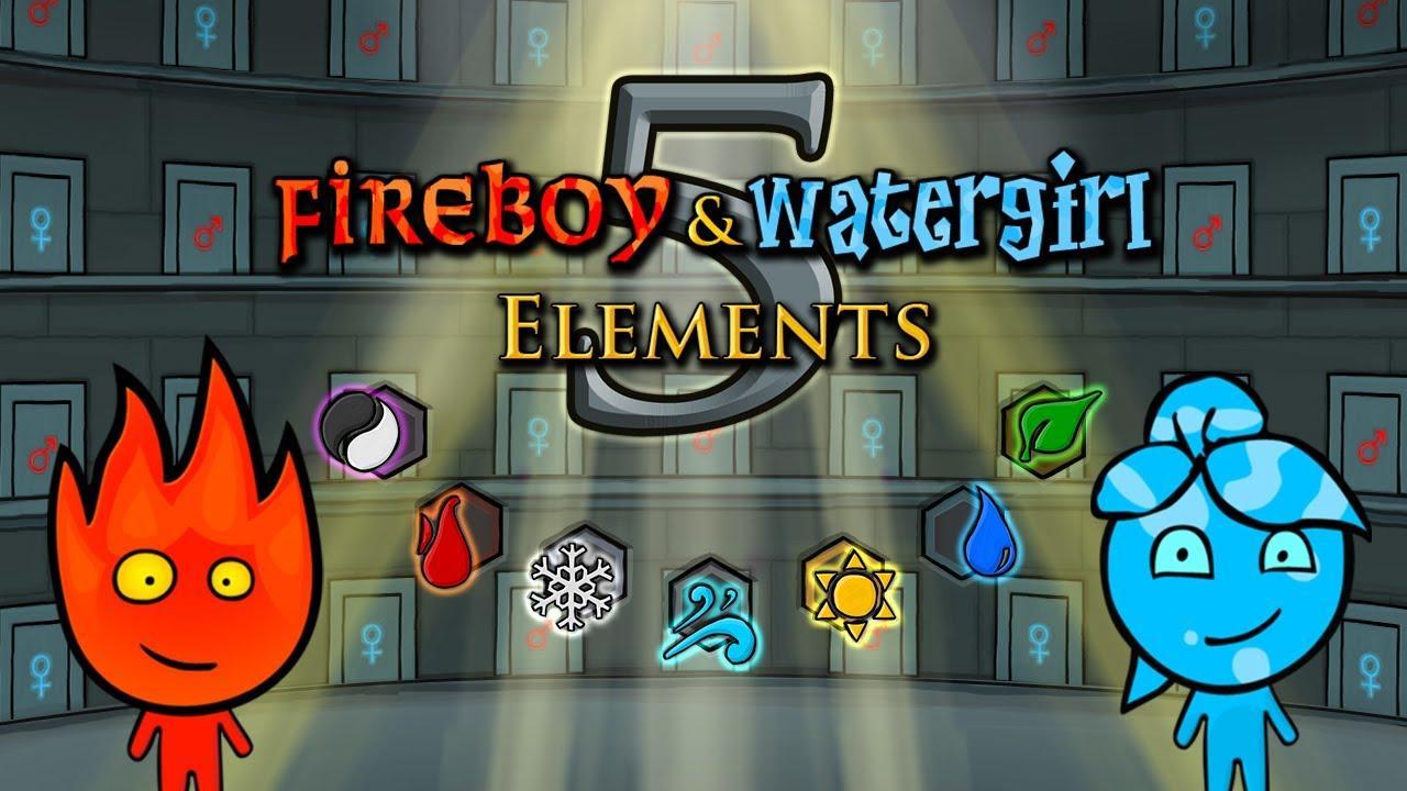 เกมน้ำกับไฟ ภาค 5 : Fireboy and Watergirl 5 Elements