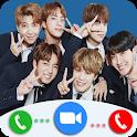 idol Call You: Fake Video Call, Korean idol world icon