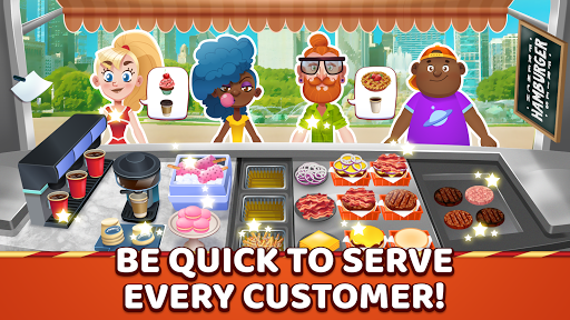 Burger Truck Chicago - Fast Food Cooking Game - screenshot