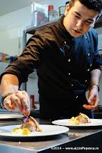 Photo: Chef Ionut Gagiu monteaza Iepure cu Sos de Trufe