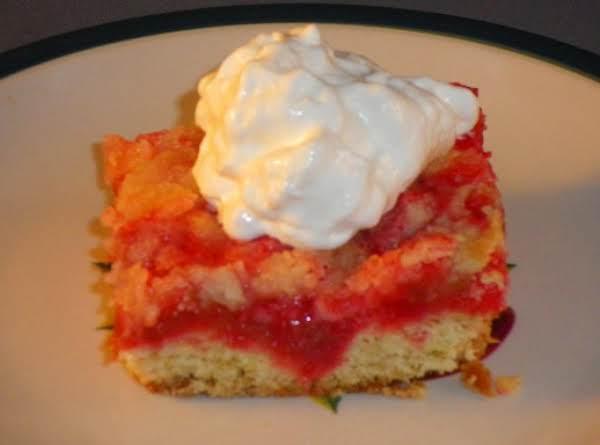 Rhubarb Delight Recipe