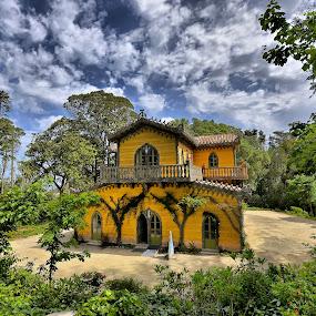 Chalet da Condessa by Julio Cardoso - Buildings & Architecture Public & Historical ( sintra, parque da pena, chalet da condessa, portugal, d. fernando ii )