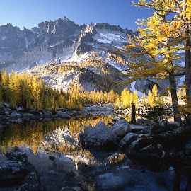 Meditation & Prayer by Rev Marc Baisden - Landscapes Waterscapes ( northwest cascades, advenbture, adventure, seasons, colors, meditation, travel )