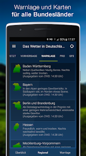 The Weather in Germany: Radar, weather warnings APK image thumbnail 5