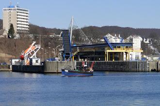 Photo: Im Stadthafen Sassnitz - Glasbahnhof vom alten Fähranleger
