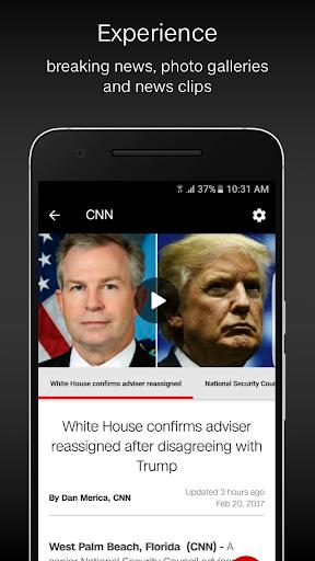 CNN Breaking US & World News Screenshot
