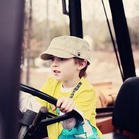 ald on tractor by Alyssa Havens - Babies & Children Children Candids
