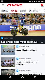 L'Equipe.fr : foot, rugby Screenshot 1