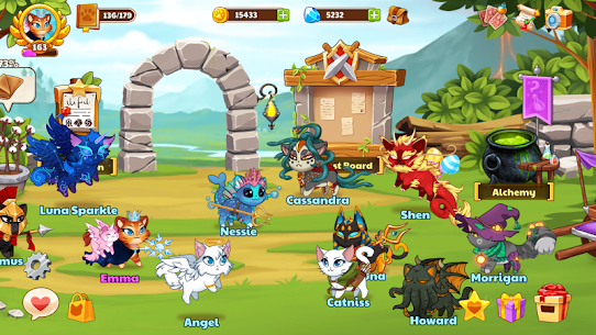 Castle Cats MOD APK Idle Hero RPG 2.12.1 (Unlimited Money) 6