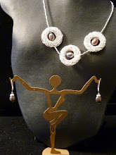 Photo: <BEREHYNYA> {Great Goddess Protectress} unique one-of-a-kind statement jewellery by Luba Bilash ART & ADORNMENT  ROBINS' NESTS - silver vermeil nests, Baroque pearls, SS SOLD/ПРОДАНИЙ  http://www.wikihow.com/Clean-A-Pearl-Necklace