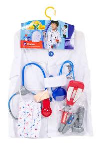 Doktorsrock med tillbehör, barn