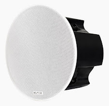 Photo: Krix Hemispherix AS in-ceiling speaker.