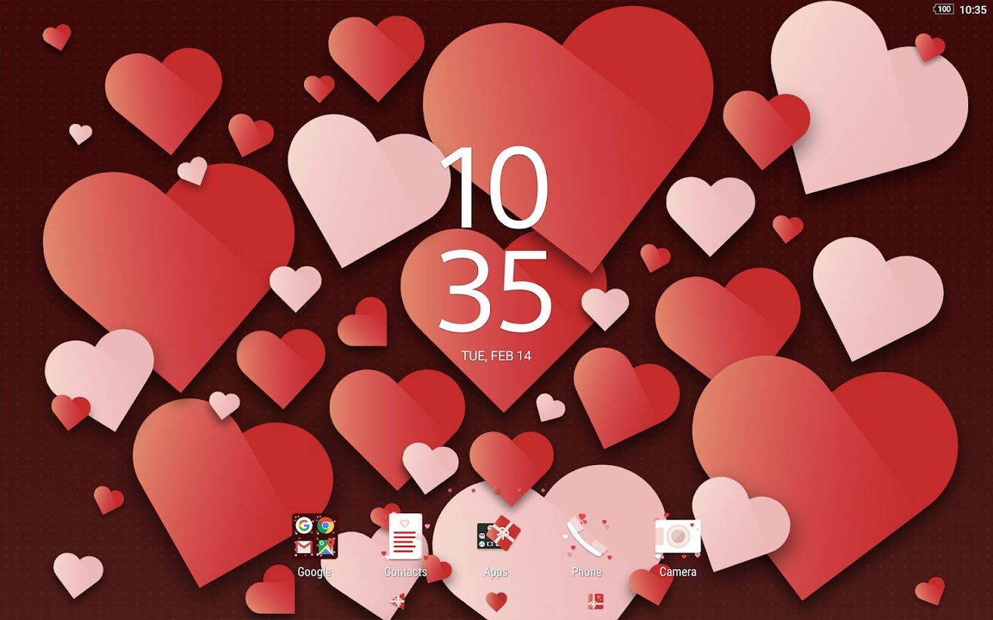 XPERIA™ Valentine's Theme- screenshot