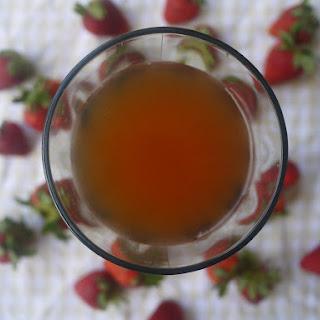 Honey Strawberry Iced Tea (paleo)