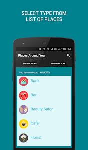 AroundMe - Your nearby locator screenshot 1
