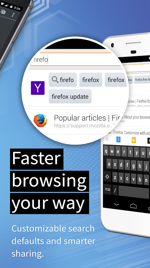 Firefox for Android – kuvakaappaus