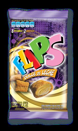 cereal flips dulce de leche bolsa 120gr