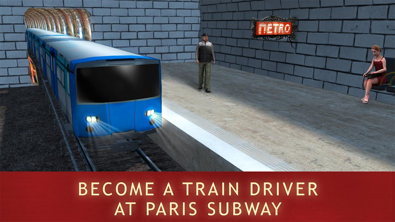 paris subway train simulator android apps on google play. Black Bedroom Furniture Sets. Home Design Ideas