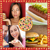 Fast Food Photo Collage
