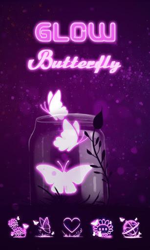 Glow Butterfly Go Launcher