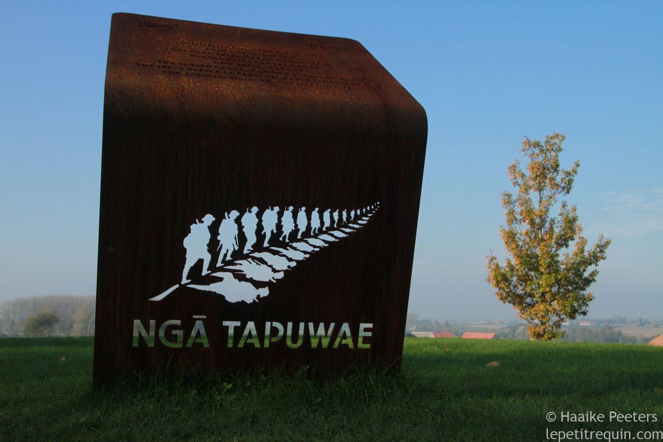 Ngā Tapuwae logo (Le petit requin)