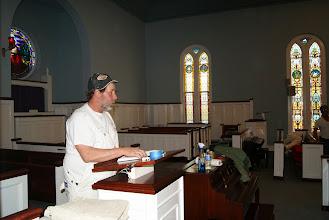 Photo: A preacher??