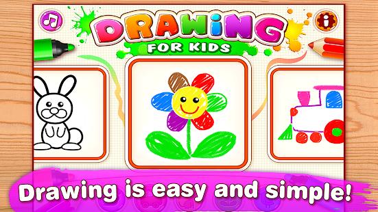 painting games for kids girls screenshot thumbnail
