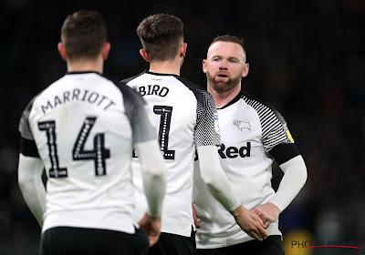 Rooney décisif et vainqueur pour ses débuts à Derby County