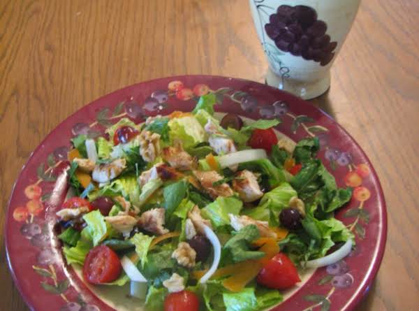 Fruity Chicken Salad With Toasted Walnuts And White Grape Juice Vinaigrette Recipe