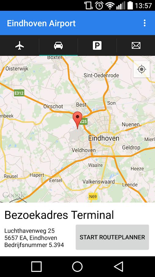 Eindhoven Airport- screenshot