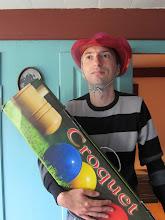 Photo: Forsyningschefen (og åbenbart croquet-direktør)