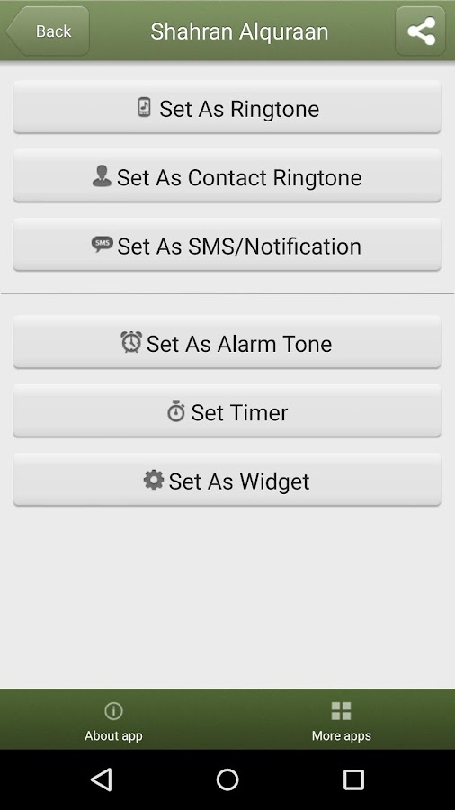 Islamic Ringtones- screenshot