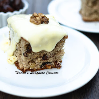 Date Cranberry Spiced Cake