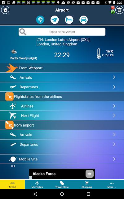 London Luton Airport (LTN) Flight Tracker APK Download
