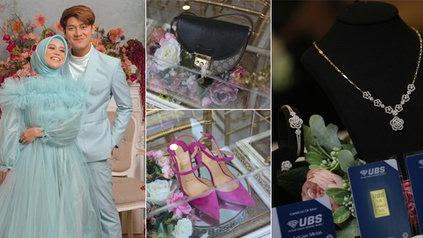10 Potret Seserahan Acara Lamaran Lesti dan Rizky Billar, Perhiasan Logam Mulia Hingga Tas dan Sepatu Branded - KapanLagi.com