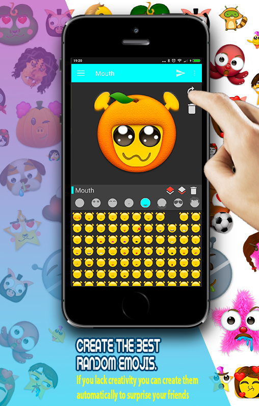 😜Emoji Maker: Create Emojis👾Smileys & Stickers🆓- screenshot