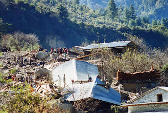 Photo: 3 dagen na de ramp.