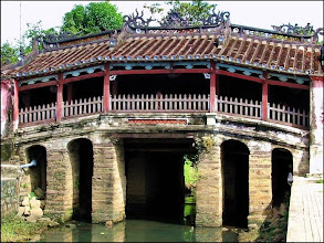 Photo: VIETNAM Hoi an - le pont japonais